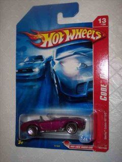 Code Car Series  #13 Shelby Cobra 427 S/C Magenta Lace Wheels #2007 97 Collectible Collector Car Mattel Hot Wheels 164 Scale Toys & Games