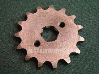 Front Countershaft Sprocket 14 teeth 428 chain size Honda XR CRF 50 70 110 125 or Similar Pit Dirt Bikes