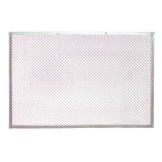Paderno World Cuisine 23.63 Perforated Aluminum Pizza Baking Sheet