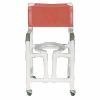 MJM International Standard Deluxe Shower Chair with Optional