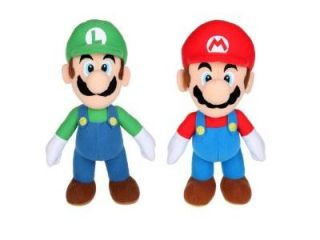 "Nintendo Super Mario Bros. Mario and Luigi 6"" Toy Plush"