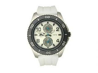 Tommy Bahama Relax Silicone Strap White Dial Men's watch #RLX1091