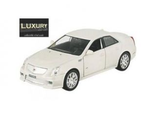 Luxury Diecast 1/43 2009 Cadillac CTS V: White