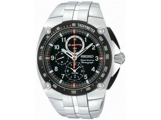 Seiko Sportura Alarm Chronograph Mens Watch SNAD23