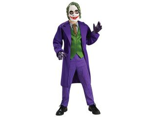 Deluxe Kids The Joker Costume   Batman Dark Knight Costumes