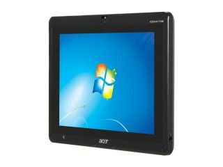 "Acer Iconia Tab W500 BZ467 Tablet PC AMD Dual Core Processor C 50(1.0GHz) 10.1"" Wide XGA 2GB Memory 32GB SSD AMD Radeon HD 6250"