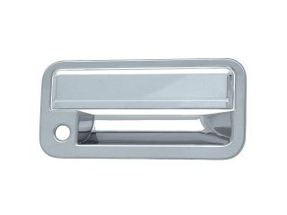 Bully Chrome Door Handle Cover for a 88 98 CHEVY C / K PICKUP / 92 95 CHEVY BLAZER / 88 98 GMC C / K PICKUP  2 dr  W/ KEYHOLE  Door Handle Cover DH68118A