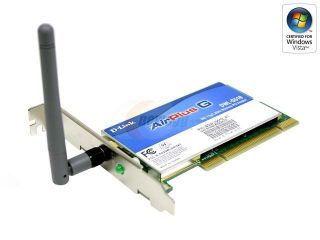 D Link DWL G510 32 bit PCI High Speed Wireless Adapter