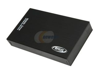 "BYTECC  HD 35SU BK  Aluminum  3.5""  Black Easy Open SATA to USB 2.0 Enclosure   Retail"