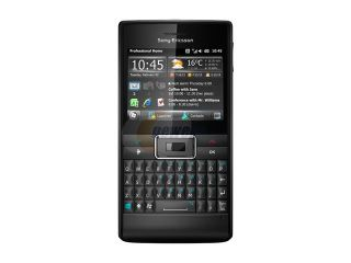 Sony Ericsson Aspen Black 3G Unlocked GSM Smart Phone w/ Windows Mobile 6.5 / Touch & Full QWERTY Keyboard (M1a)