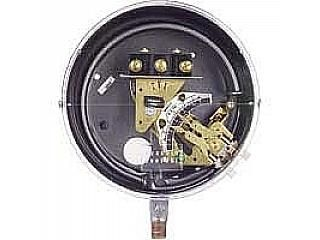 DA 7031 153 5 (SPDT Snap Switch, Adjst. Deadband) Pressure switch, brass Bourdon tube, range 2 60 ps