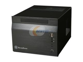 SilverStone Sugo Series SG06 B Black Aluminum/SECC Mini ITX Desktop Computer Case SFX 300W with 80 PLUS certification Power Supply