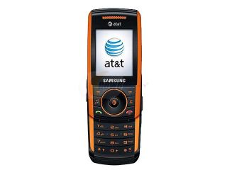 Samsung SGH a737 Black/Orange 3G Unlocked GSM Slider Phone with 1.3 MP Camera