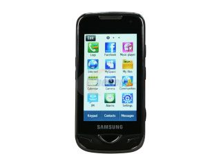Samsung B7722 Black Unlocked GSM Smart Phone with Dual SIM