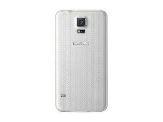 Samsung Galaxy S5 Shimmering White 3G Quad Core 2.5GHz Unlocked GSM Phone + UAG White Case + H2O SIM Card
