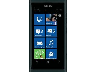 Nokia Lumia 800 Black 3G Single Core 1.4GHz 16GB Unlocked GSM Windows Smart Phone w/ Windows Phone 7.5 Mango / 8 MP Camera