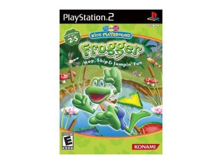 Konami Kids Playground: Frogger Hop, Skip & Jumpin' Fun with Dance Mat PlayStation 2 (PS2) Game KONAMI