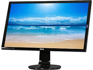 "BenQ GL2460HM Black 24"" 2ms (GTG) HDMI Widescreen LED Backlight LCD Monitor TN Panel 250 cd/m2 DC 12,000,000:1 (1000:1) Built in Speakers"