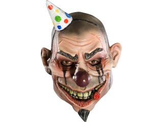 Mens Scary Evil Clown Adult Halloween Costume Mask