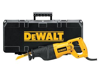 Dewalt DW310K 12 Amp Heavy Duty Reciprocating Saw Kit