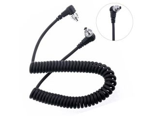 Pixel PC PC 1.2m Remote Shutter Connecting Cable Onboard Flashgun for DSLR Camera