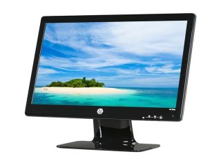 "HP 2011x (XP597AA#ABA) Black 20"" 5ms Widescreen LED Backlight LCD Monitor 250 cd/m2 DC 3,000,000:1 (1,000:1)"