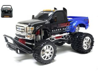 Remote Control Ford F 350 Super Duty Dually 1/10 Scale RC Truck