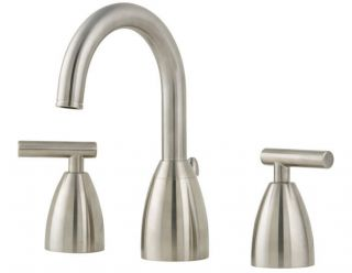 Price Pfister F 049 NK00 Contempra 8 In. Widespread 2 Handle High Arc Bathroom F